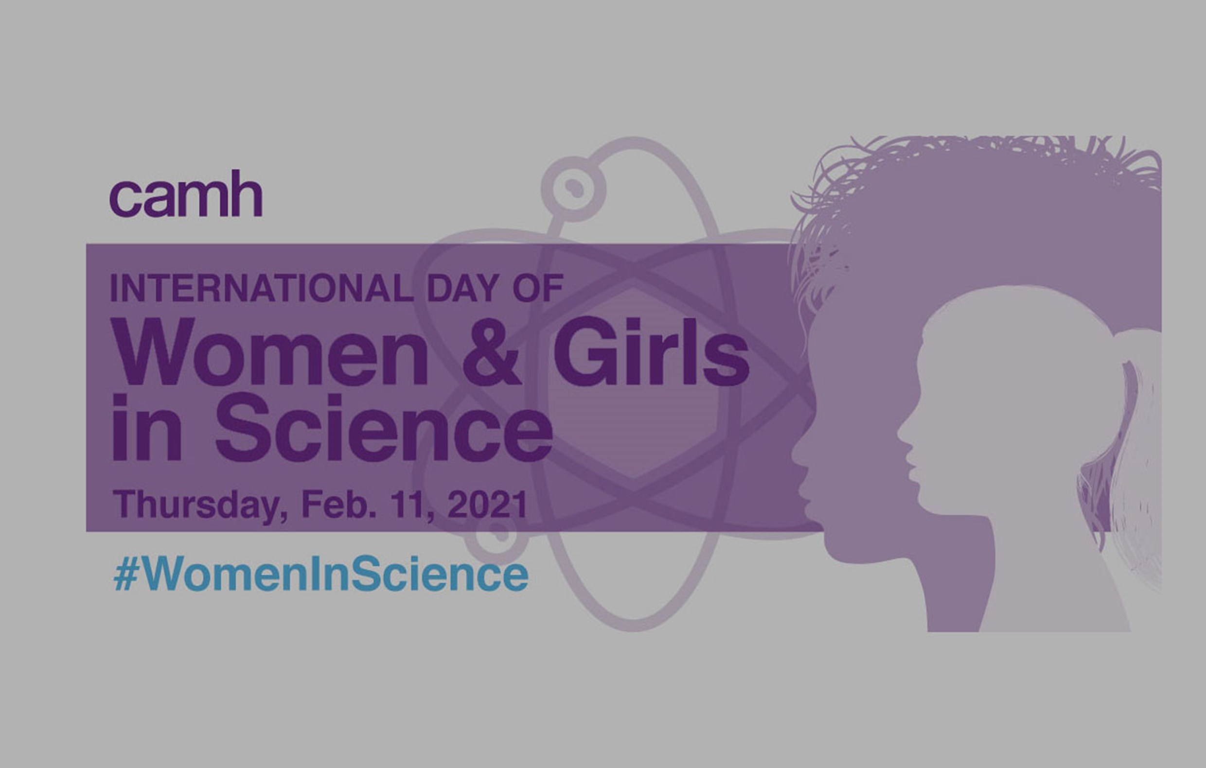 International Day of Women and Girls in Science - Slideshow Cover